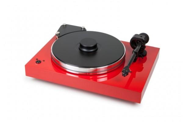 Plattenspieler Xtension 9 Evolution ohne Tonabnehmer Rot von Pro-Ject