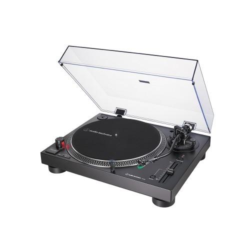 Audio Technica AT-LP120X Direktangetriebener Plattenspieler (Analog & USB) schwarz