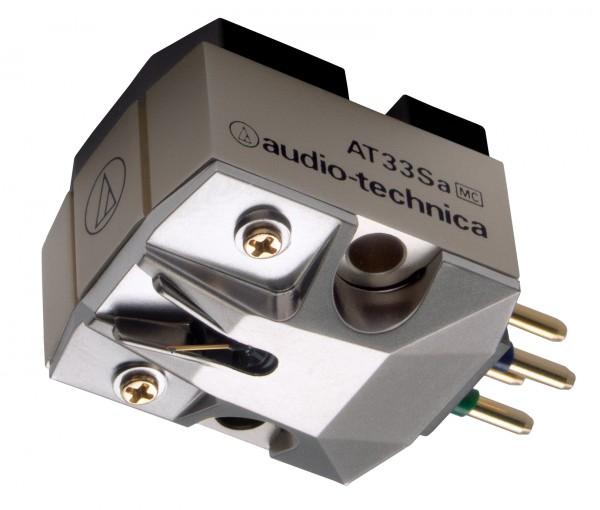AT33sa Dual-Moving Coil Tonabnehmer mit Shibata-Schliff