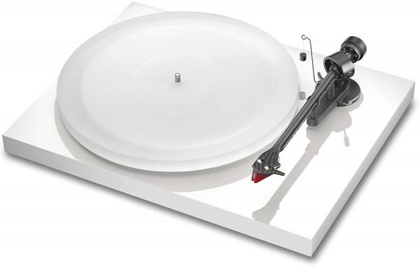 Plattenspieler Debut Carbon Esprit SB (DC) mit Ortofon 2M Red Hochglanz weiß von Pro-Ject