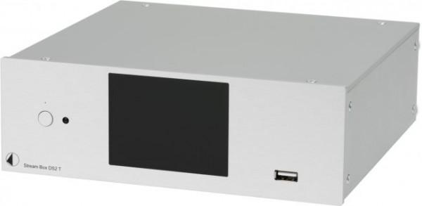 Stream Box DS2 T 24bit/192kHz Hires Audio Streamer & Internetradio von Pro-Ject silber
