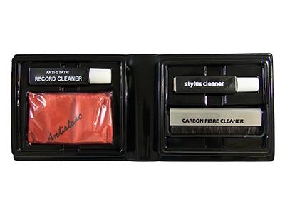 Analogis Pflegeset Vinyl Care Pro besteht aus Record Cleaner, Stylus Cleaner,...