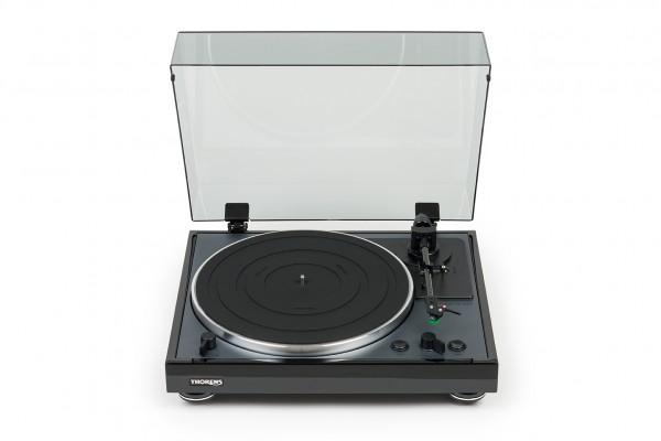 Thorens TD 102 A Vollautomatischer Plattenspieler schwarz Hochglanz