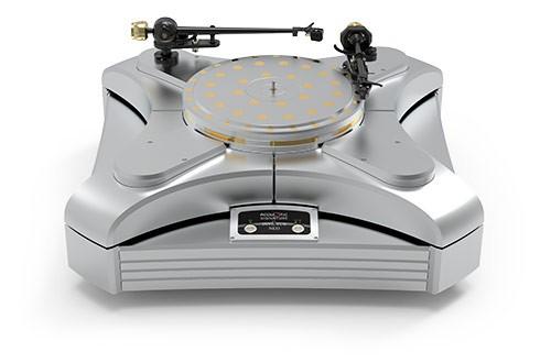 Plattenspieler INVICTUS NEO Silber ohne Tonarm & System von Acoustic-Signature