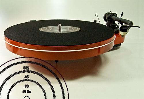 LP StroboMat Filz / Mat Eight