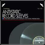 Diskfile 102 Typ 2 Antistatische LP-Innenhüllen mit abgerundeten Ecken