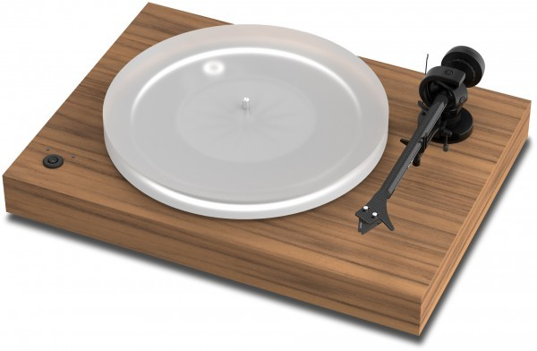 Plattenspieler X2 mit Ortofon Pick it S2 Silver MM Walnuss von Pro-Ject