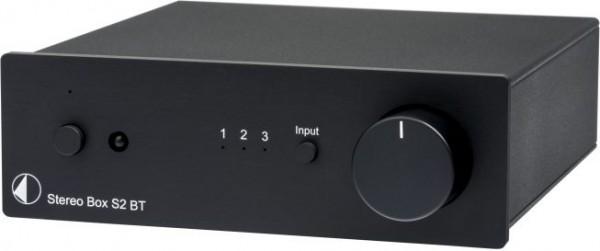 Stereo Box S2 BT High End Vollverstärker mit Bluetooth Eingang von Pro-Ject schwarz - Rückläufer ohn