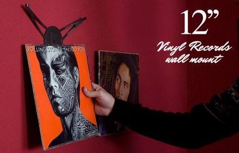 Wandhalter für Vinyl Cover LP