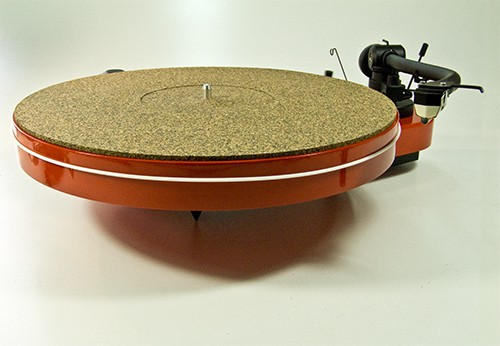 Plattentellerauflage Mat One Kork-Gummi Mix Analogis