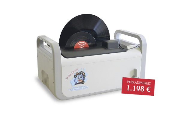 ULTRASONIC VINYL RESTORATION SYSTEM - RC-1 - Schallplatten Waschmaschine von Kirmuss Audio