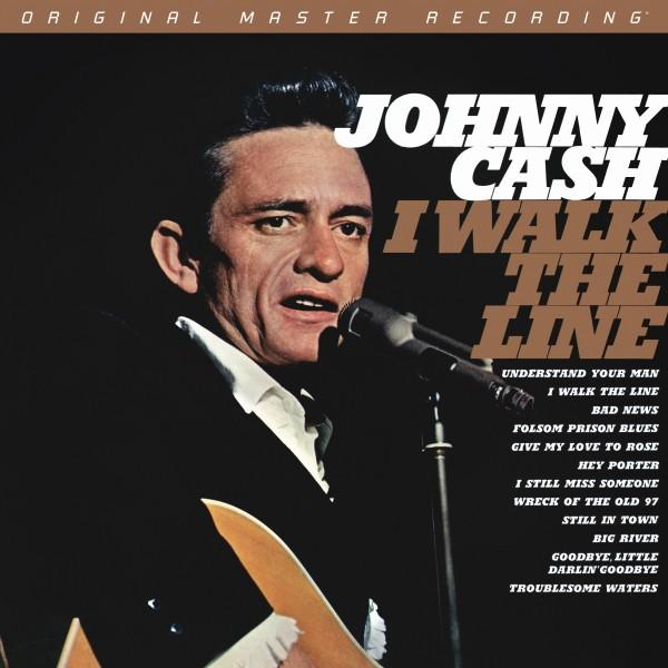 Johnny Cash – I Walk The Line 180g LP Vinyl von MFSL