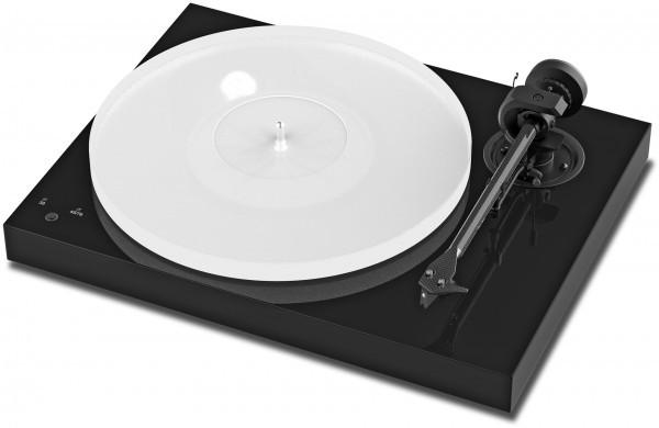 Plattenspieler X1 mit Ortofon Pick it S2 MM Pianolack schwarz von Pro-Ject