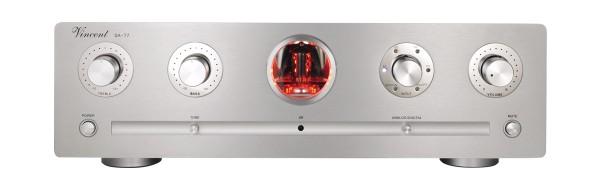 Vincent Stereo Röhrenvorstufe SA-T7 silber
