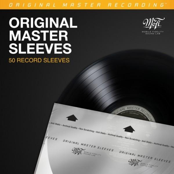 50 Stück Innenhüllen MFSL ORIGINAL MASTER SLEEVES von Mobile Fidelity Sound Lab