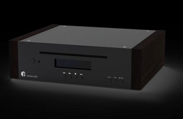 CD Box DS2 High-End CD Spieler und HiRes DAC von Pro-Ject schwarz - eukalyptus