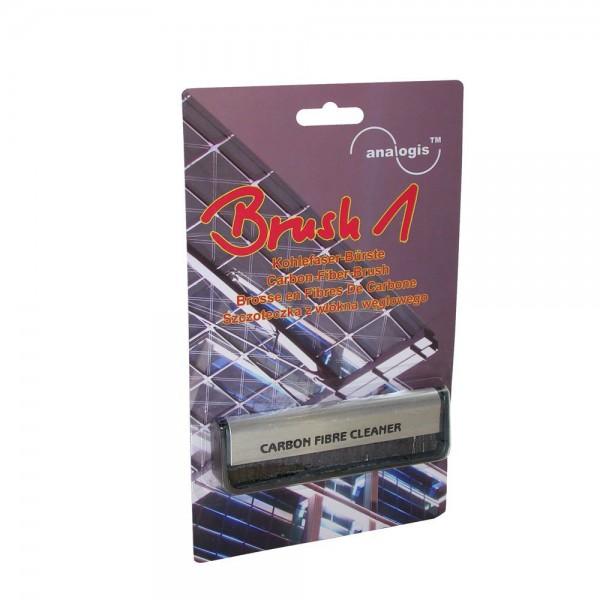 Analogis Schallplattenbürste Kohlefaserbürste Brush 1