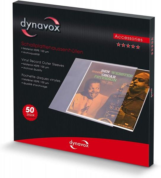 LP Vinyl Schallplatten Album Cover Aussen Hüllen 50er Packung