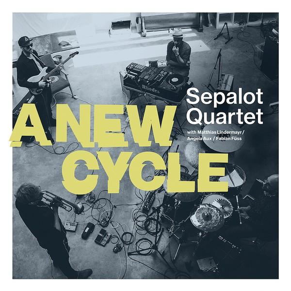 Sepalot Quartet - A New Cycle LP Vinyl (+Autogramm)