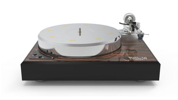 Plattenspieler Double X NEO Makassa / Schwarz ohne Tonarm & System von Acoustic-Signature