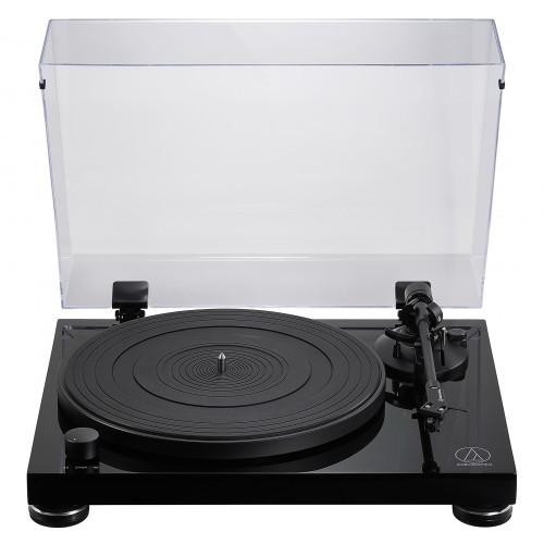 Audio-Technica AT-LPW50PB Manueller Plattenspieler mit Riemenantrieb