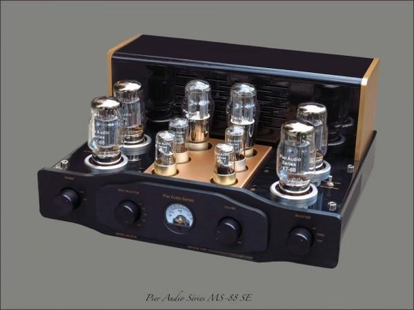 Pier Audio MS-88 SE - Röhrenvollverstärker mit Röhren-Netzgleichrichtung