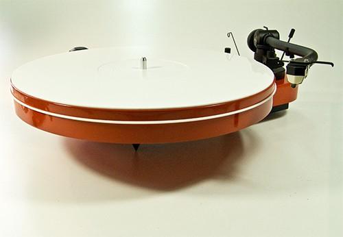 Plattentellerauflage Mat Four Acryl weiss Analogis