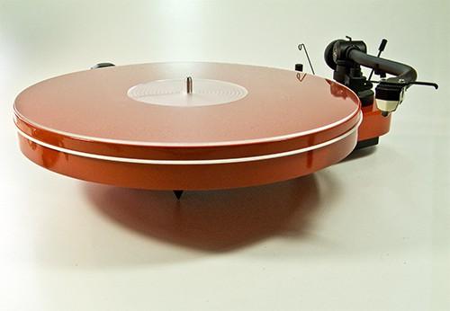 Plattentellerauflage Mat Three Acryl klar Analogis