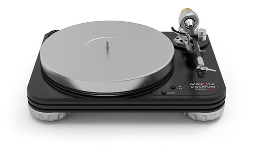 Plattenspieler Maximus NEO Bi-Color - ohne Tonarm & System - von Acoustic-Sgnature