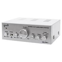 Dynavox CS-PA1 Mini-Verstärker (HiFi, 2x 50Watt) silber