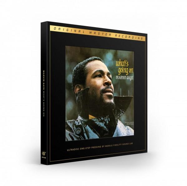 Marvin Gaye - What's Going On [ULTRADISC-ONE-STEP-LP] 180g LP Vinyl von MFSL