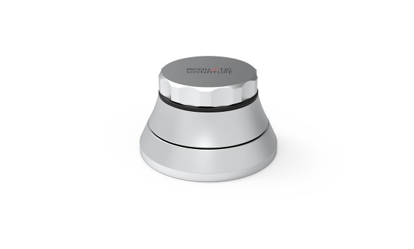GRIP MK3 Silber eloxiert Schallplattenklemme von Acoustic-Signature