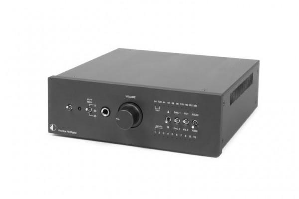 Pre Box RS Digital Highend Vorverstärker, D/A-Wandler, Kopfhörerverstärker von Pro-Ject schwarz