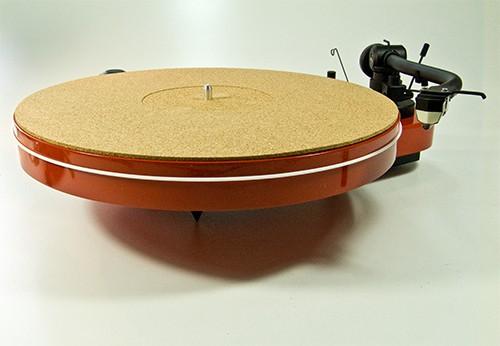 Plattentellerauflage Mat Two Kork-Pur Analogis