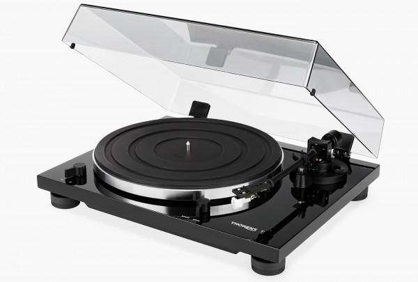 Thorens TD 201 Manueller Plattenspieler weiß hochglanz (TP 71 Tonarm, AT 3600 Tonabnehmer)