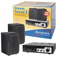 Dynavox Dream Sound Set II (Hifi Verstärker 150 Watt) schwarz