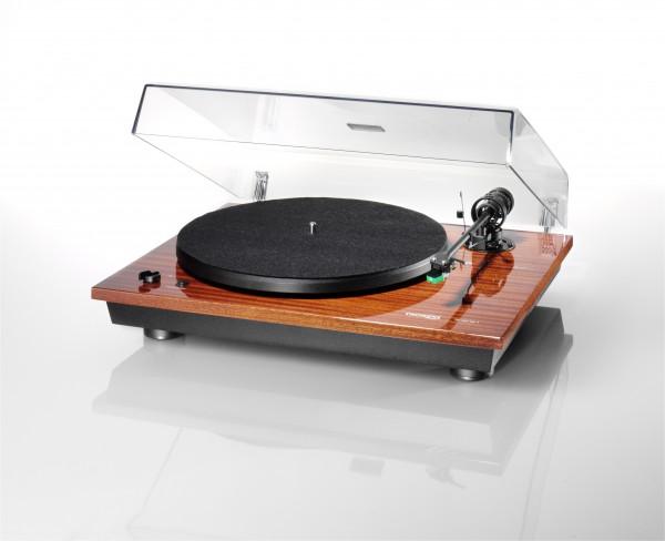 Thorens TD 295 Halbautomatischer Plattenspieler Klavierlack-Mahagoni (AC-Synchronmotor, TP 41 Tonarm