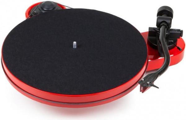 Plattenspieler RPM 1 Carbon mit Ortofon 2M Red hochglanz rot von Pro-Ject