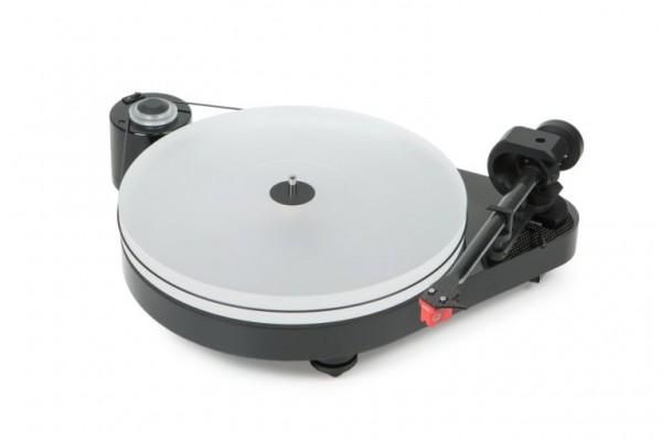 Plattenspieler RPM 5 Carbon mit Ortofon MC Quintet Red hochglanz schwarz von Pro-Ject