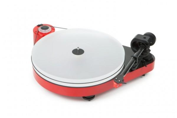 Plattenspieler RPM 5 Carbon mit Ortofon MC Quintet Red hochglanz rot von Pro-Ject