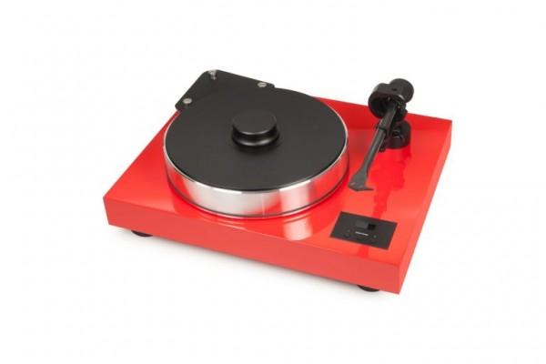 Plattenspieler Xtension 10 Evolution SuperPack mit Ortofon MC Cadenza Black + Kabel Rot von Pro-Ject