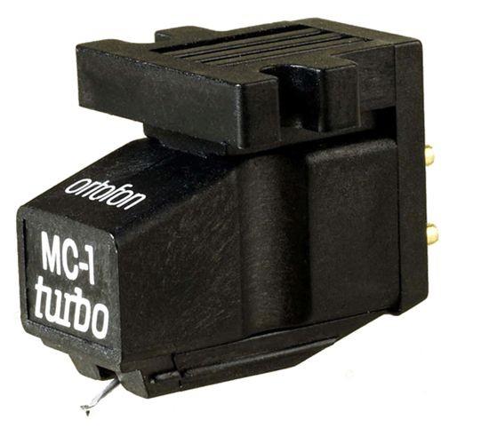 Ortofon MC 1 Turbo High-Output MC-Tonabnehmer für Plattenspieler schwarz
