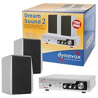 Dynavox Dream Sound Set II (Hifi Verstärker 150 Watt) silber