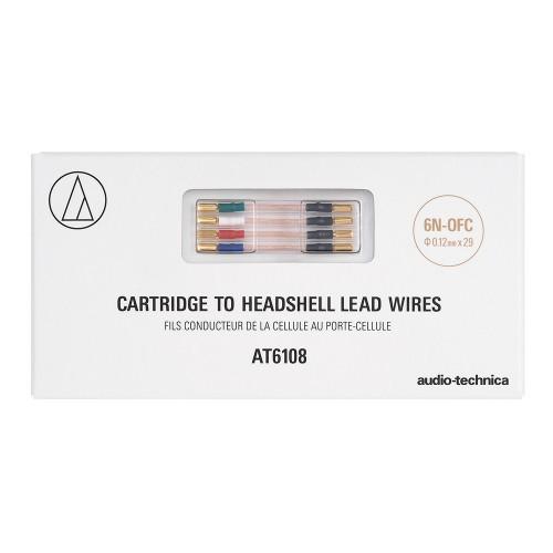 Tonabnehmer Headshell Verbindungskabel AT6108