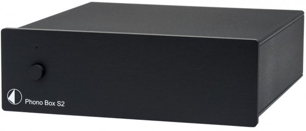 "Phono Box S2 ""Best Buy"" MM/MC Phono Vorverstärker von Pro-Ject schwarz"