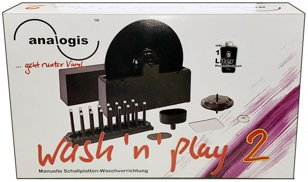 ANALOGIS Wash N Play 2 Schallplattenwaschmaschine